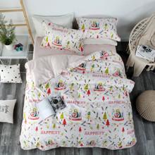 Комплект постельного белья Самый счастливый (двуспальный-евро) (код товара: 47285)