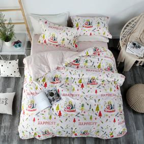 Комплект постельного белья Самый счастливый (двуспальный-евро) (код товара: 47285): купить в Berni