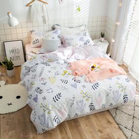 Комплект постельного белья Травы на лугу (полуторный) (код товара: 47264): купить в Berni