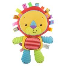 Мягкая игрушка - погремушка Львенок (код товара: 47306)