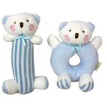 Набор мягких игрушек - погремушек Медвежата (код товара: 47309)