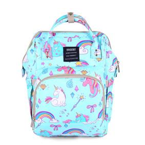 Сумка - рюкзак для мамы Лазурный единорог (код товара: 47375): купить в Berni