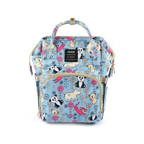 Сумка - рюкзак для мамы Панда, синий (код товара: 47372): купить в Berni