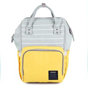 Сумка - рюкзак для мамы Полоска, желтый (код товара: 47364): купить в Berni