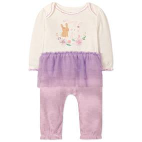Комбинезон для девочки Кролики (код товара: 47487): купить в Berni