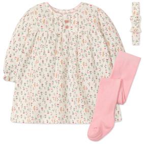 Комплект для девочки 3 в 1 Цветы (код товара: 47478): купить в Berni