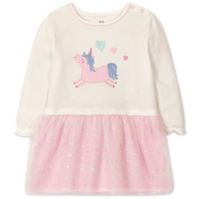 Платье для девочки Единорог (код товара: 47489): купить в Berni