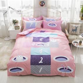 Уценка (дефекты)! Комплект постельного белья Классики (двуспальный-евро) (код товара: 47444): купить в Berni
