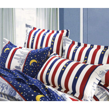 Комплект постельного белья Дубай с простынью на резинке (полуторный) (код товара: 47554)