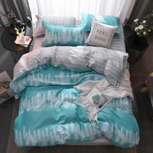 Комплект постельного белья Хвойный лес (двуспальный-евро) (код товара: 47550)