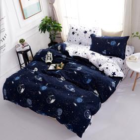Комплект постельного белья Космос (двуспальный-евро) (код товара: 47526): купить в Berni