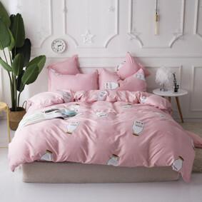 Комплект постельного белья Молоко (двуспальный-евро) (код товара: 47546): купить в Berni