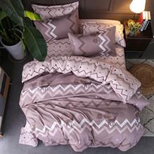 Комплект постельного белья Олень с простынью на резинке (полуторный) (код товара: 47552)