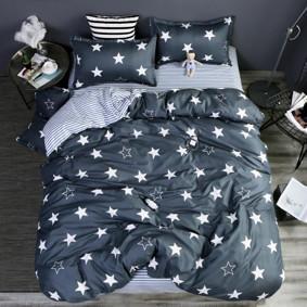 Комплект постельного белья Звезды (полуторный) (код товара: 47529): купить в Berni