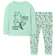 Піжама для дівчинки Кіт (код товара: 47584)