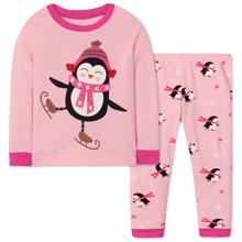 Піжама для дівчинки Пінгвін оптом (код товара: 47579)