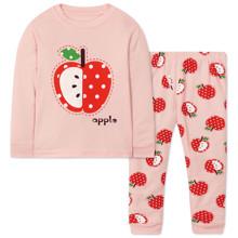 Піжама для дівчинки Яблуко оптом (код товара: 47583)