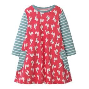 Платье для девочки Ламы (код товара: 47516): купить в Berni
