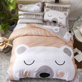 Комплект постельного белья Белый мишка (двуспальный-евро) (код товара: 47676): купить в Berni