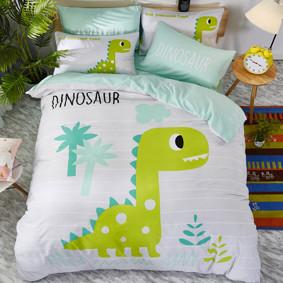 Комплект постельного белья Динозавр (двуспальный-евро) (код товара: 47678): купить в Berni