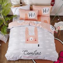 Комплект постельного белья Кролик (двуспальный-евро) (код товара: 47692)