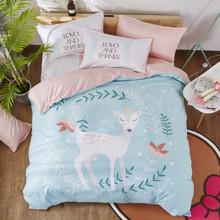 Комплект постельного белья Принцесса олененок (двуспальный-евро) (код товара: 47694)
