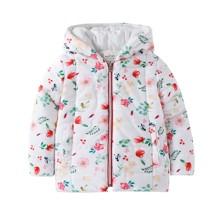 Куртка для девочки Цветы (код товара: 47641)