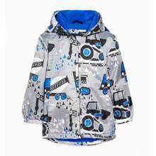 Куртка для мальчика Строительные машины (код товара: 47645)