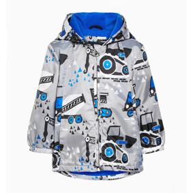 Куртка для мальчика Строительные машины (код товара: 47645): купить в Berni