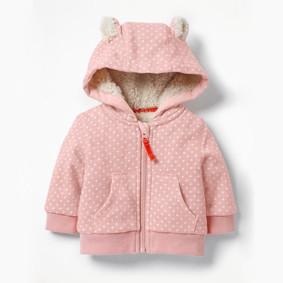 Утепленная кофта для девочки Горошек (код товара: 47644): купить в Berni