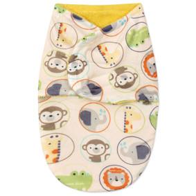 Флисовая пеленка - кокон на липучках (код товара: 47754): купить в Berni
