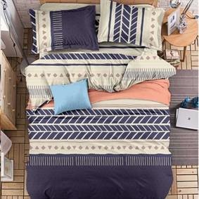Комплект постельного белья Абстрактная дорога (двуспальный-евро) (код товара: 47724): купить в Berni
