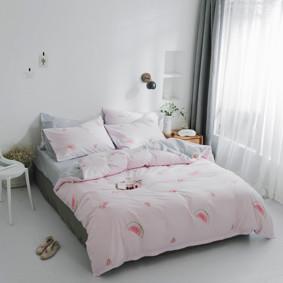 Комплект постельного белья Арбуз (двуспальный-евро) (код товара: 47735): купить в Berni