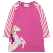Платье для девочки Единорог оптом (код товара: 47776)
