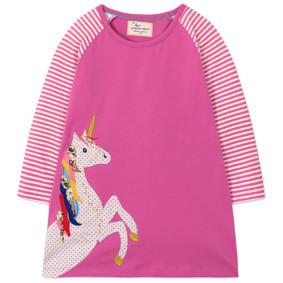 Платье для девочки Единорог (код товара: 47776): купить в Berni