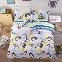 Уценка (дефекты)! Комплект постельного белья Абстракция (двуспальный-евро) (код товара: 47702)