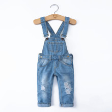 Комбинезон джинсовый детский Etude оптом (код товара: 47837)