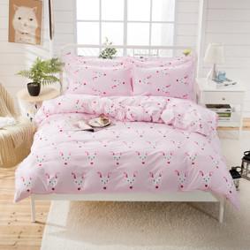Комплект постельного белья Кролик (двуспальный-евро) (код товара: 47891): купить в Berni