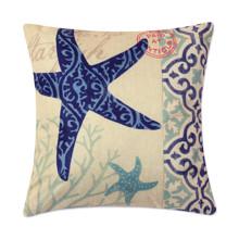 Подушка декоративная Морская звезда 45 х 45 см (код товара: 47818)