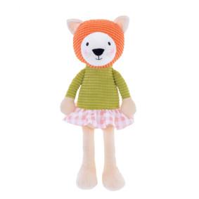 Мягкая игрушка Кошка в зеленой кофте, 24 см (код товара: 47992): купить в Berni