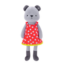 Мягкая игрушка Медвежонок в красном платье, 35 см (код товара: 47988)