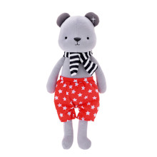 Мягкая игрушка Медвежонок в красных шортах, 35 см оптом (код товара: 47987)
