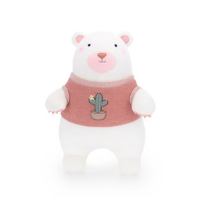 Мягкая игрушка Мишка в розовом свитере, 35 см (код товара: 47978): купить в Berni