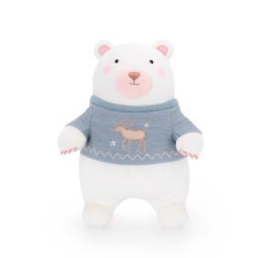 Мягкая игрушка Мишка в синем свитере, 35 см (код товара: 47980): купить в Berni