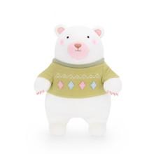 Мягкая игрушка Мишка в зеленом свитере, 35 см (код товара: 47979)