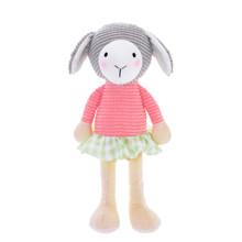 Мягкая игрушка Овечка в розовой кофте, 24 см (код товара: 47990)