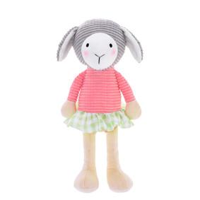 Мягкая игрушка Овечка в розовой кофте, 24 см (код товара: 47990): купить в Berni