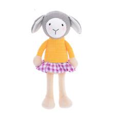 Мягкая игрушка Овечка в желтой кофте, 24 см (код товара: 47991)
