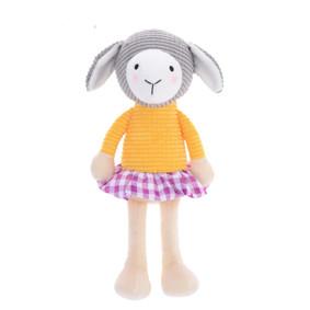 Мягкая игрушка Овечка в желтой кофте, 24 см (код товара: 47991): купить в Berni