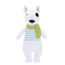 Мягкая игрушка Пес в полосатой майке, 31 см (код товара: 47993)